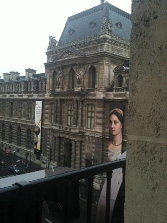 Hotel du Louvre: View from our room!