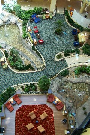 World Golf Village Renaissance St. Augustine Resort: Common Areas as Seen From Above