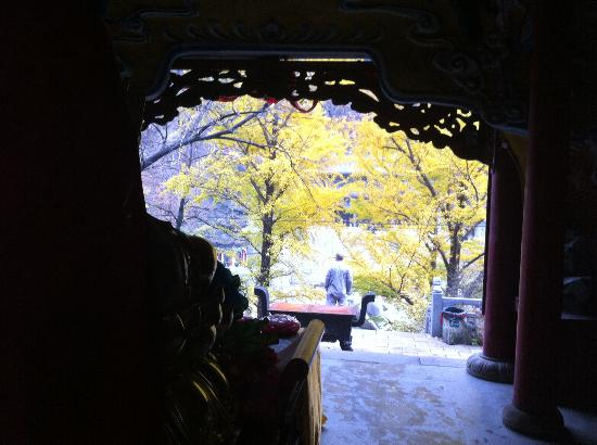 Qianshan Mountain Buddha: great buddha temple