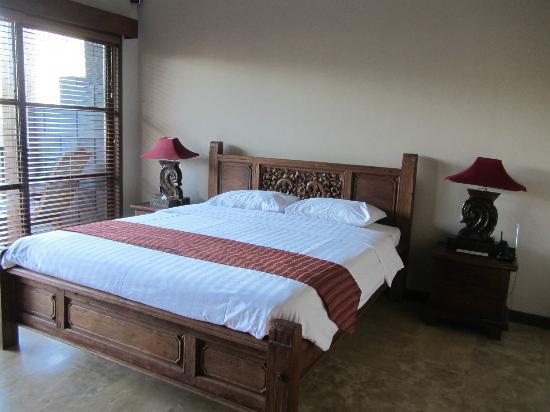 Ajanta Villas: slaapkamer