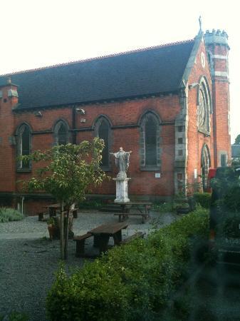 Dublin International Youth Hostel: Vue de mon dortoir :-)