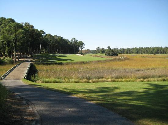 Oyster Bay Golf Links: The view from the 5th tee