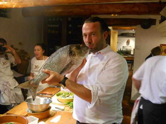 Hostellerie Berard : Chef Jean-Francois Berard's Cooking Class.