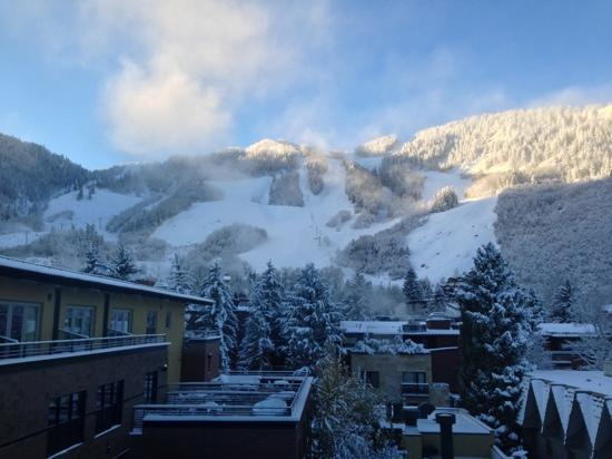The Limelight Hotel Aspen: view from our room