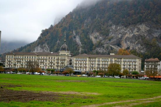 Victoria Jungfrau Grand Hotel & Spa: the hotel