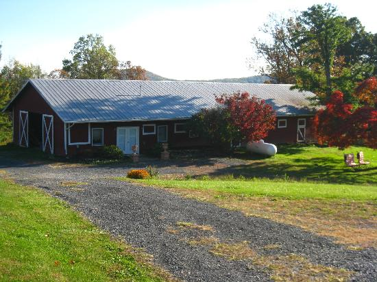 Parma in Little Washington: Reconstructed barn to massage therapy spa
