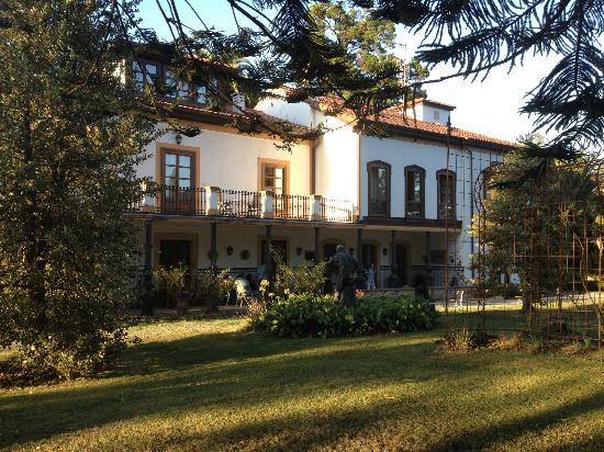 Hotel Quinta Duro : La terraza y la galería
