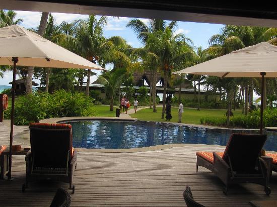 Paradise Sun: uno scorcio: dalla reception dove servono una squisita merenda compresa nel pacchetto con lo sgu