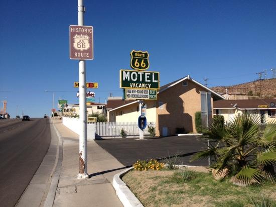 Route 66 Motel: une photo de l'entrée