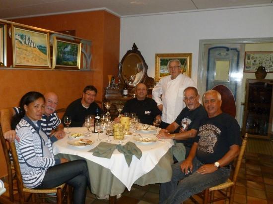 Hotel du Mont Aigoual: Photo avec le Chef du Resto Hôtel du Mont Aigoual à Meyrueis FRANCE