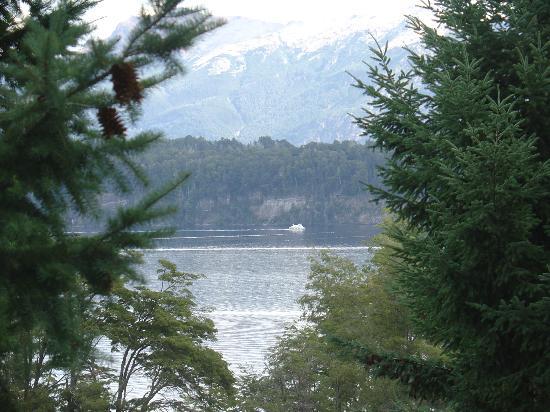 Colina del Manzano: Vista desde el deck