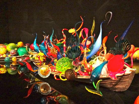Boat Picture Of Chihuly Garden And Glass Seattle