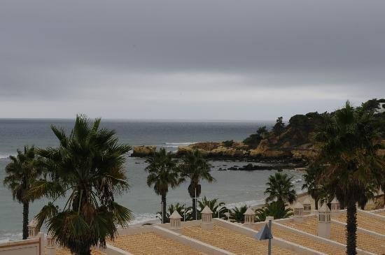 Grande Real Santa Eulalia Resort & Hotel Spa: view from hotel (rainy day)