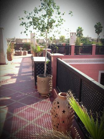 Riad Alili: 2ème terrasse