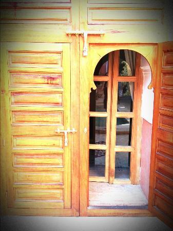 Riad Alili: superbe porte d'entrée de notre suite