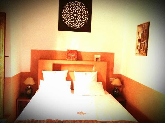 Riad Alili: notre merveilleux et très confortable lit