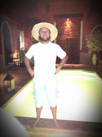 Riad Alili: piscine
