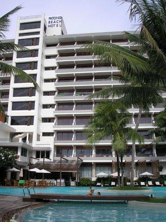 Patong Beach Hotel:                   hotel paton beach