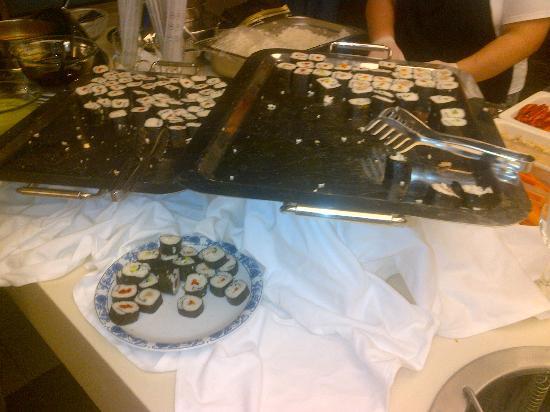 Asteria Elita Resort: You can get even sushi..