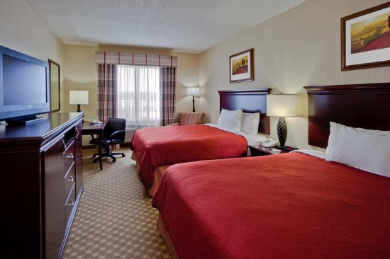 Country Inn & Suites By Carlson, Jacksonville West: CountryInn&Suites JacksonvilleW GuestRoomDbl