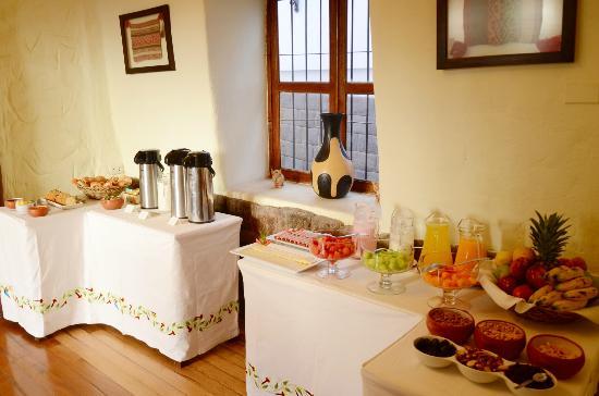 Unaytambo Hotel: desayunador