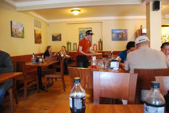 Vesta: interior of restaurant