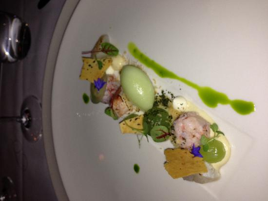 G.W. Sundmans: Scallop, lobster, cucumber - outstanding