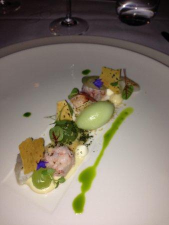 G.W. Sundmans : Scallop, lobster, cucumber - outstanding