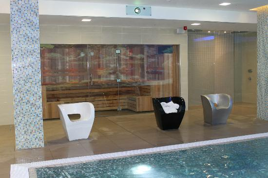 Novotel London Blackfriars: sauna / piscine