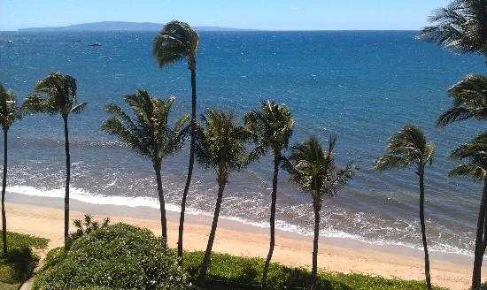 Kealia Resort: View from Lanai