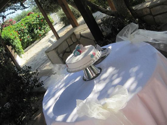 Nissi Beach Resort: Wedding cake