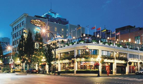 The Strathcona Hotel: Strathcona Hotel and Sticky Wicket Pub