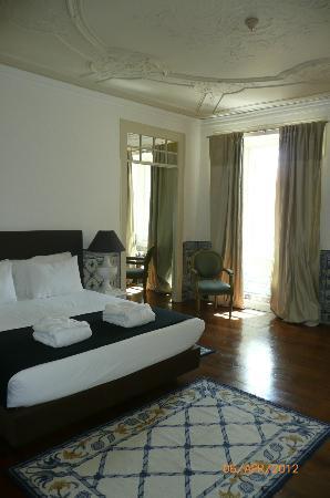 Palacio Ramalhete: Bedroom of suite