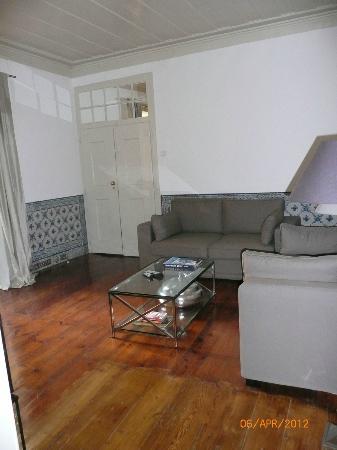 Palacio Ramalhete: Sitting area of suite