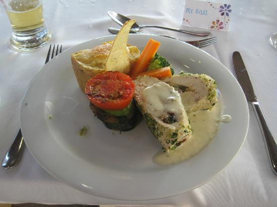Nissi Beach Resort: Wedding main course