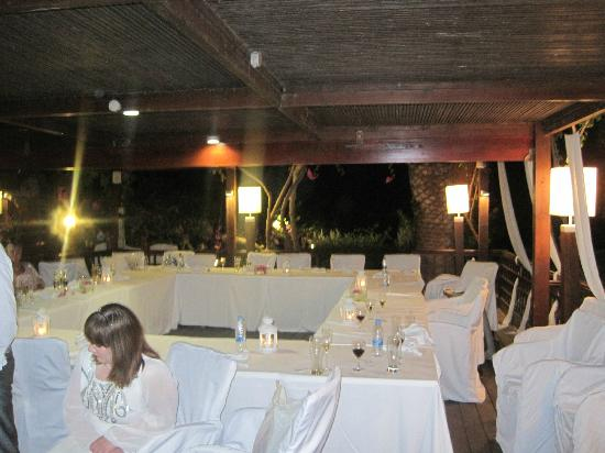 Nissi Beach Resort: Thalassa private venue
