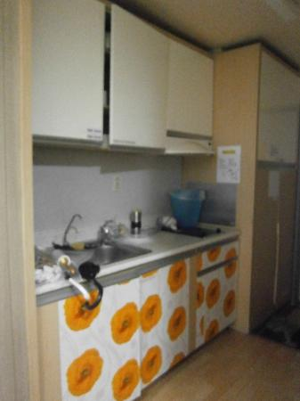 Hongdae Guesthouse: Kitchenette