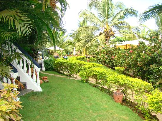 Santana Beach Resort: lawn