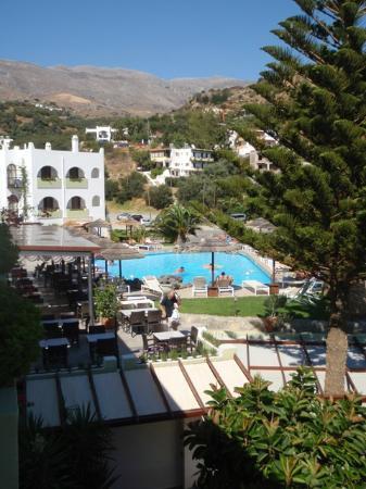 Hotel Alianthos Garden: vista dalla camera