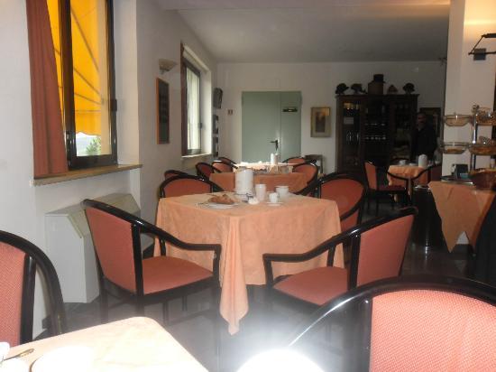 Hotel  le Rocce sas: sala colazione