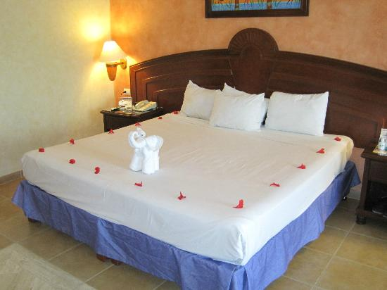 Grand Bahia Principe Coba: hard as a rock but always well decorated