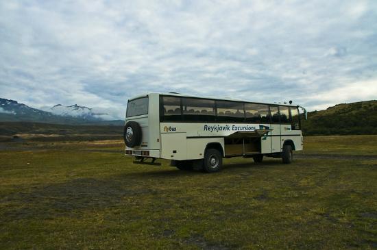 Volcano Huts Thorsmork: Bus transfer