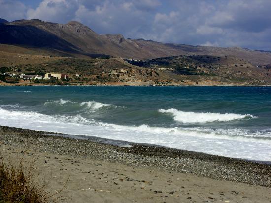 Chryssana Beach Hotel: beach