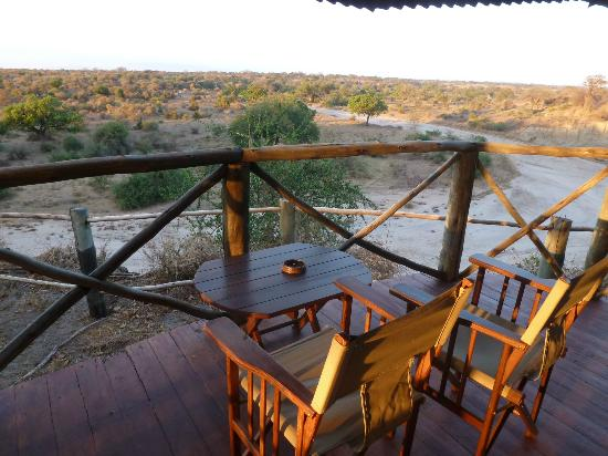 Tarangire River Camp: the great view from our veranda