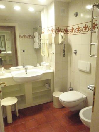 Caparena Hotel: bagno