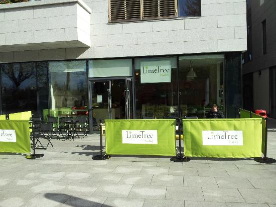 LimeTree Cafe Front