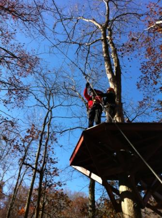 eXplore Brown County at Valley Branch Retreat: canopy
