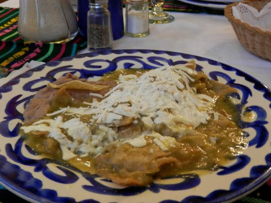 Hotel Casa Gonzalez: los buenísimos chilaquiles