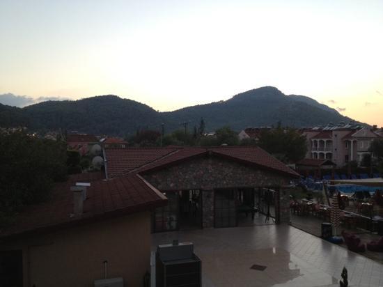 Hotel Destan: View from balcony