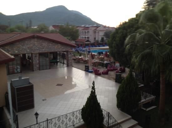 Hotel Destan: View from room